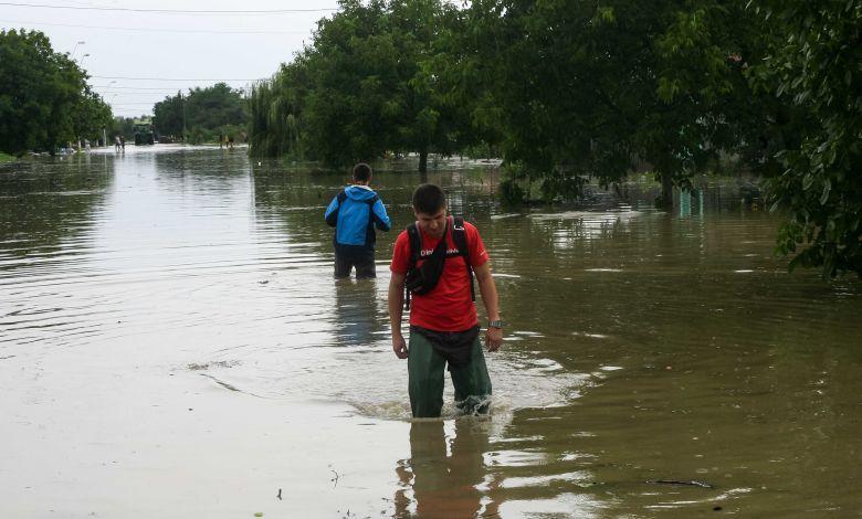 Gataia, judetul timis inundatii arvizek