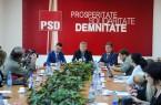 Florin Barsasteanu deputat, Dorel Sandesc secretar de stat, Lucia Ursuletu purtator de cuvant PSD Timis03