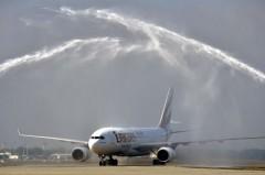 Megérkezett Budapestre az Emirates elsõ járata