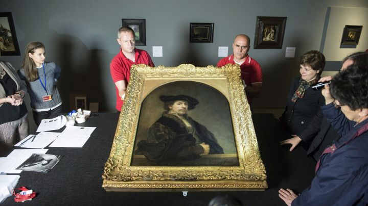 Londonból Budapestre érkezett Rembrandt egyik fõmûve