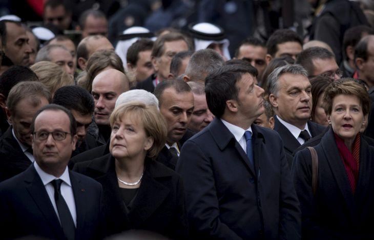 RENZI, Matteo; Orbán Viktor; MERKEL, Angela; HOLLANDE, Francois; SOMMARUGA, Simonetta