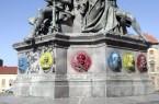 Ismeretlenek meggyalázták az aradi Szabadság-szobrot