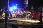 Két rendõr életét vesztette egy közúti balesetben Budapest