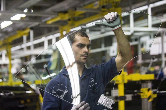 A Mercedes-Benz kecskeméti gyára