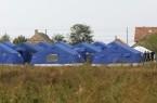 Illegális bevándorlás - Sátortábor a romániai Kunszõllõs