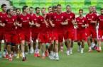 Magyar-román - A  magyar labdarúgó-válogatott edzése