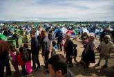 Illegális bevándorlás - Migránsok a görög-macedón határo