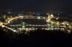 Rio 2016 - Díszvilágítást kapott a Lánchíd