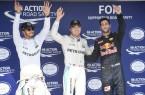 HAMILTON, Lewis; ROSBERG, Nico; Ricciardo, Daniel