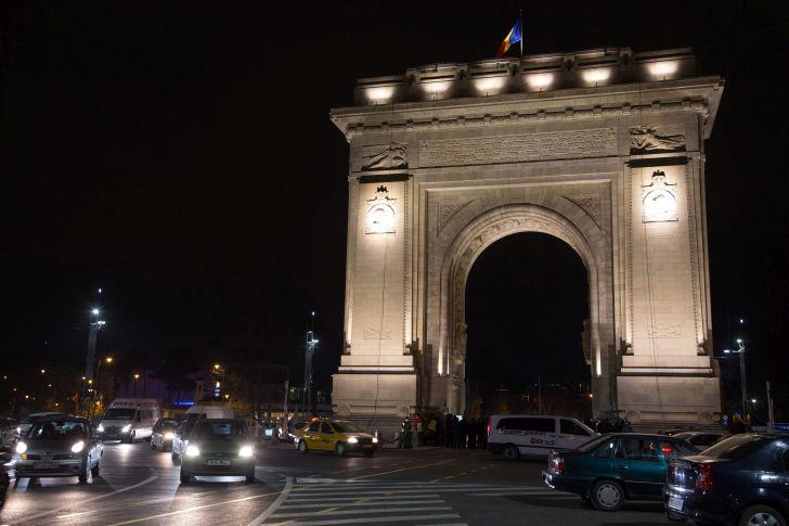 Visszakerült a Budapest felirat a helyreállított bukaresti diadalívre