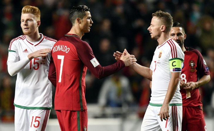 Cristiano Ronaldo; Dzsudzsák Balázs