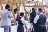 I. SZENT István; IOHANNIS, Klaus; Csíkszereda 2017 július 18. Klaus Johannis román államfõ látogatása Hargita és Kovászna megyében.