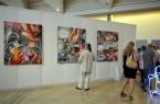 A mûvészet rétegzõdései - Kiállítás a Vigadó Galériáb